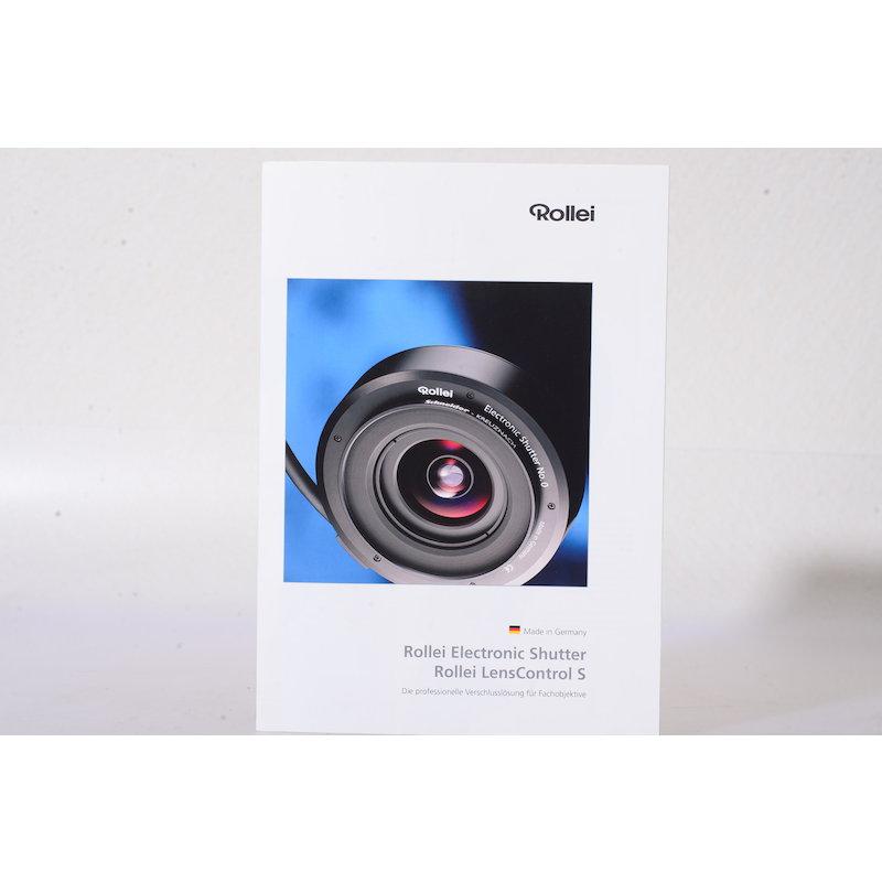 Rollei Prospekt Electronic Shutter/Lens Control S