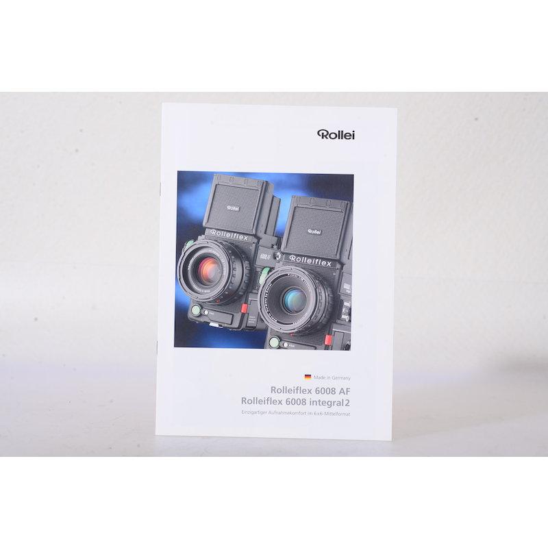 Rollei Prospekt Rolleiflex 6008 AF/6008 Integral 2