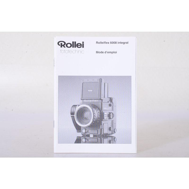 Rollei Anleitung 6008 Integral (Französisch)