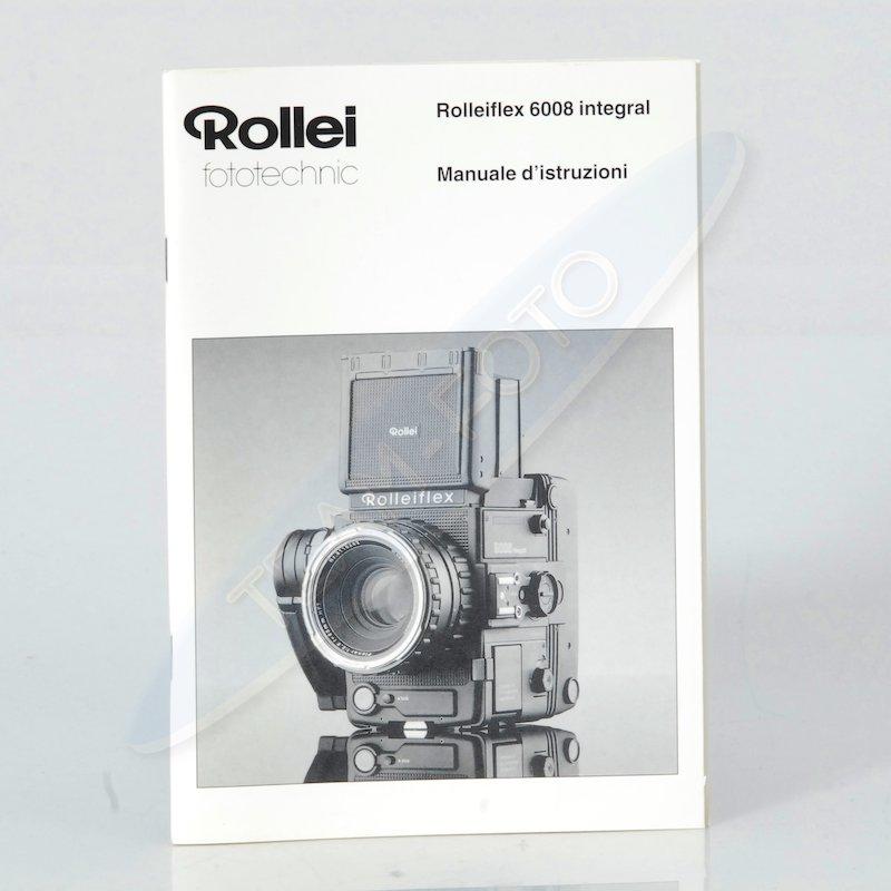 Rollei Anleitung 6008 Integral (Italienisch)