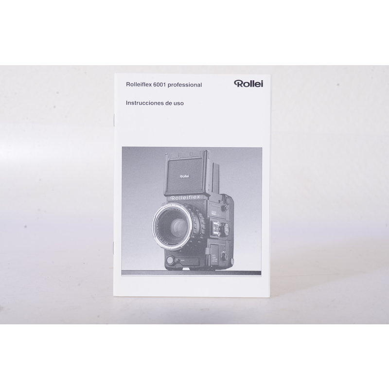 Rollei Anleitung Flex 6001 Prof. (Spanisch)