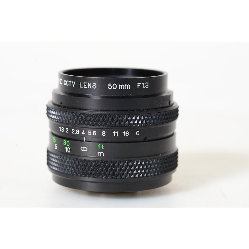 IVC TV-Lens 1,3/50 C-Mount