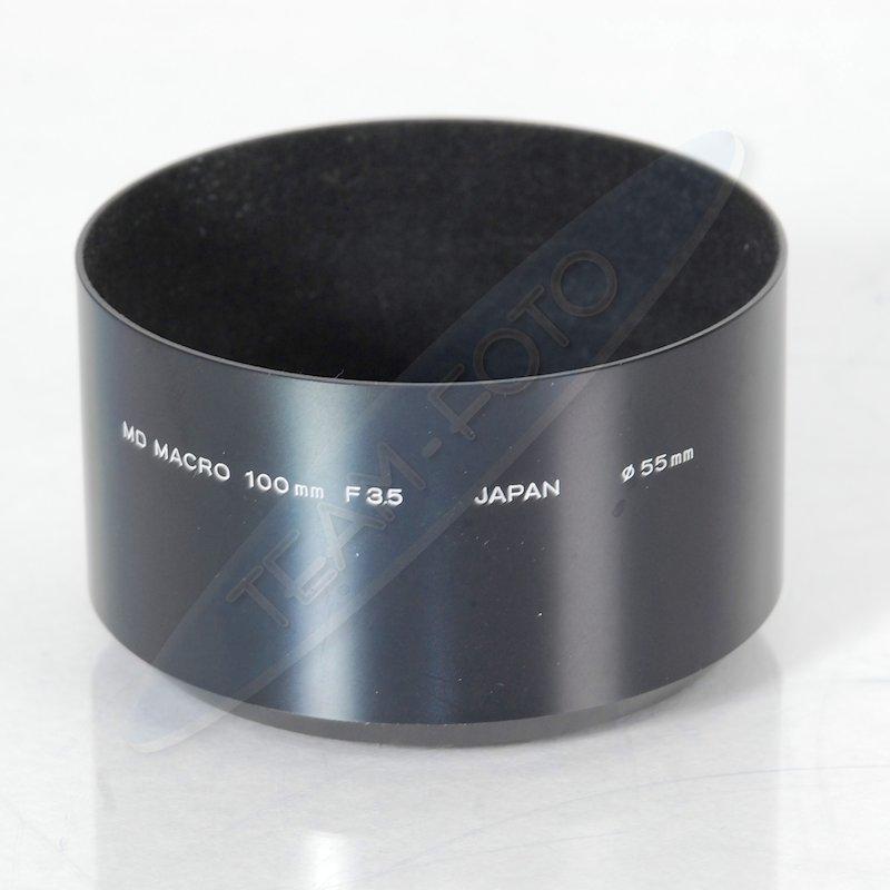 Minolta Geli.-Blende Metall E-55 MD 3,5/100 Makro