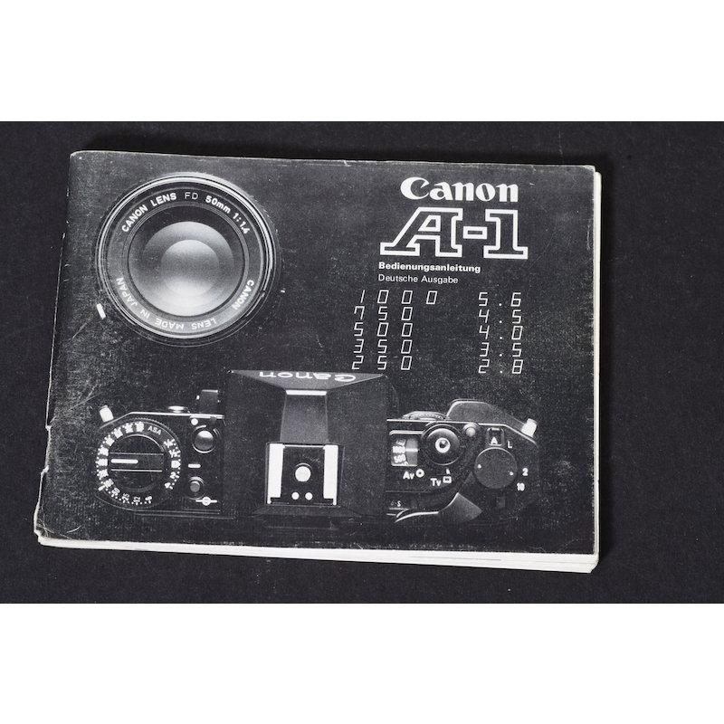 Canon Anleitung A-1