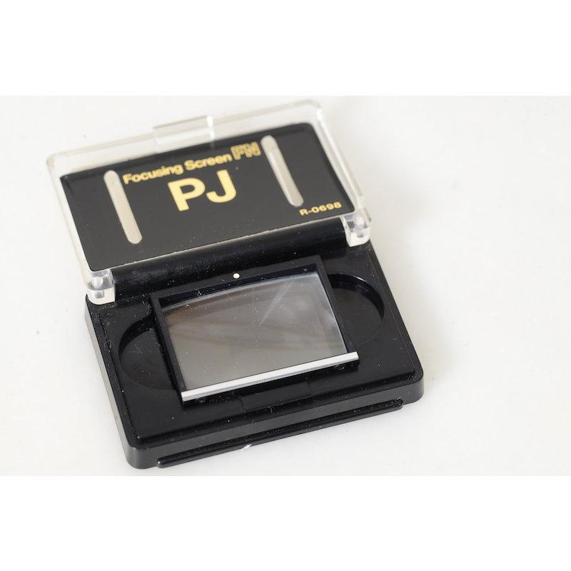Canon Einstellscheibe PJ F-1 New