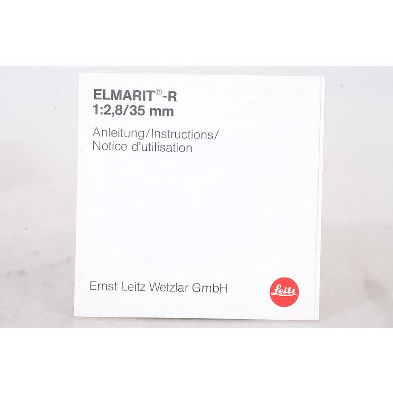 Leica Anleitung Elmarit-R 2,8/35