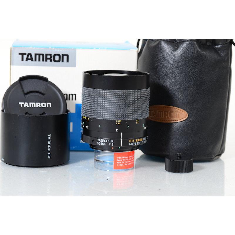 Tamron SP 8,0/500 Spiegel New Adaptall