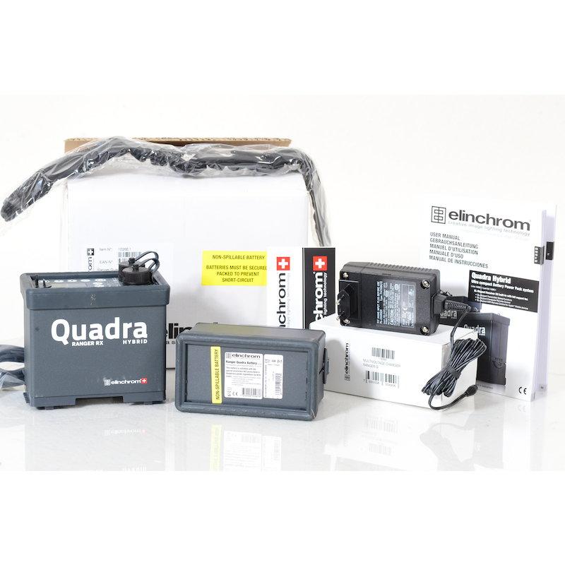 Elinchrom Ranger Quadra Hybrid Pack mit Bleigel-Akku Neuware 2 Jahre Garantie