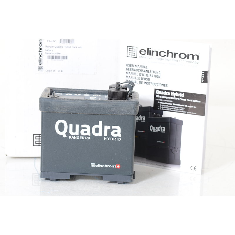 Elinchrom Ranger Quadra Hybrid Pack ohne Akku Neuware 2 Jahre Garantie