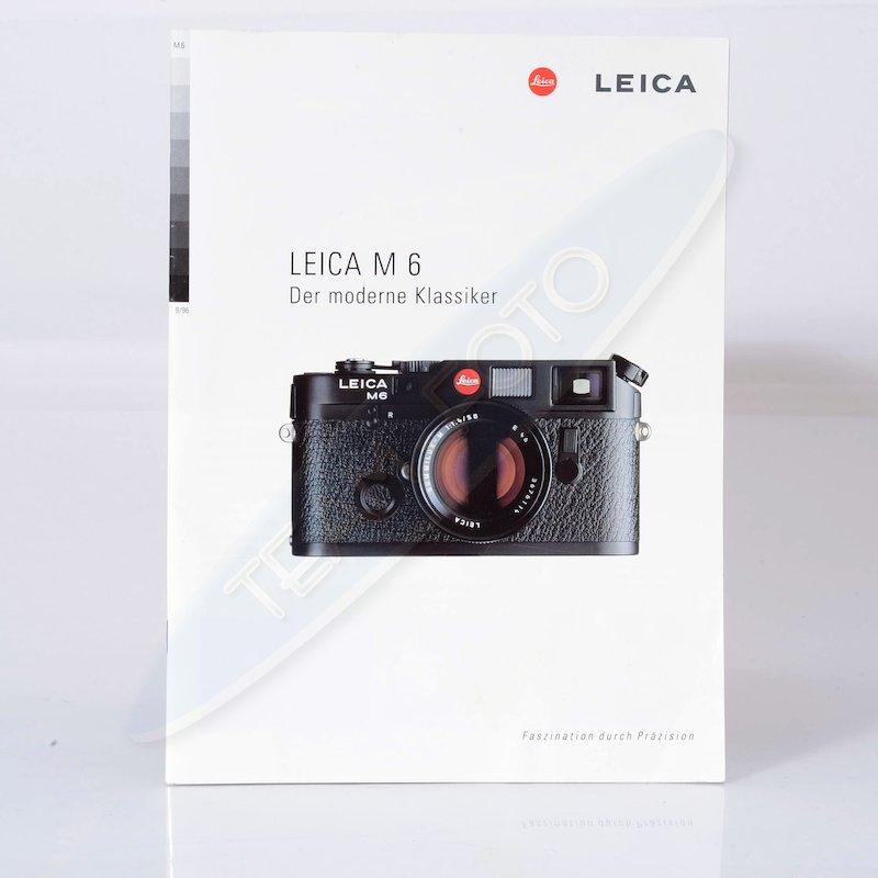 Leica Prospekt M6 Der moderne Klassiker
