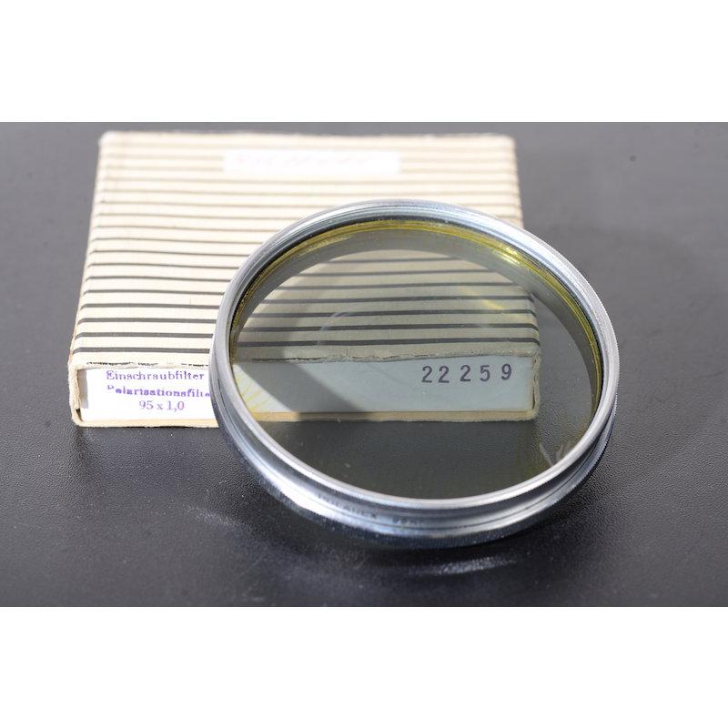 Linhof Polfilter Linear E-95 Seperierungen im Glas