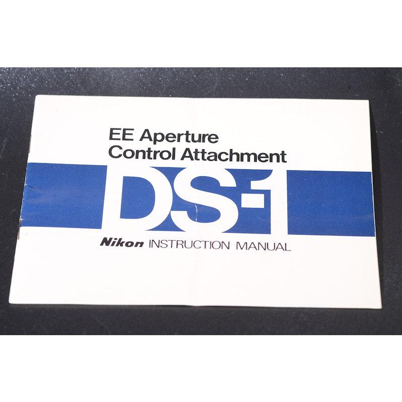 Nikon Anleitung EE Blendenautomatik DS-1 (Englisch)