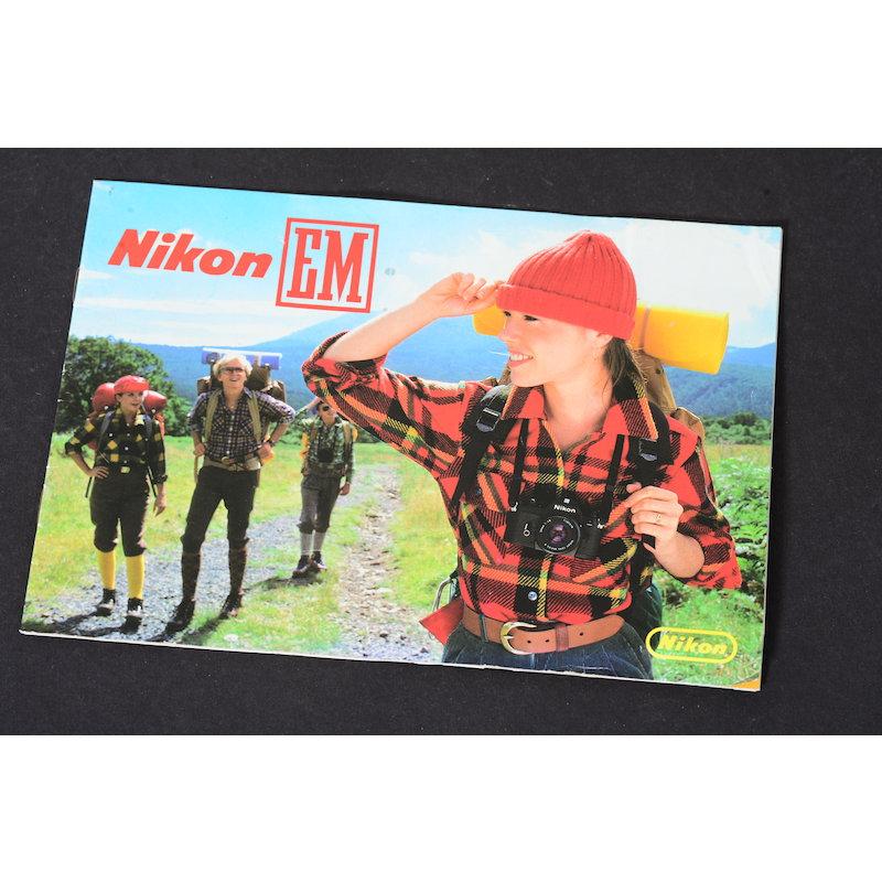 Nikon Prospekt EM 1979