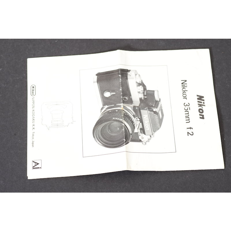 Nikon Datenblatt Ai 2,0/35