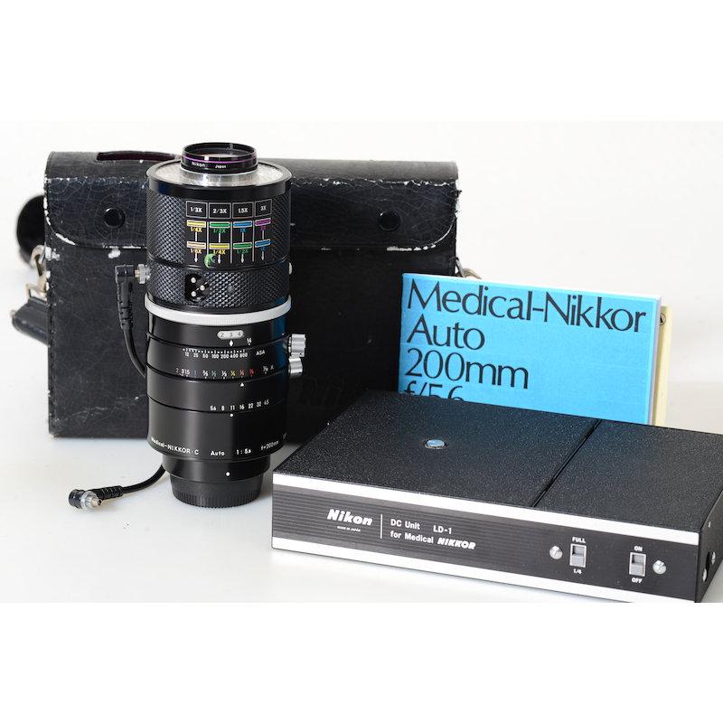 Nikon Medical-Nikkor-C Auto 5,6/200+Netzgerät
