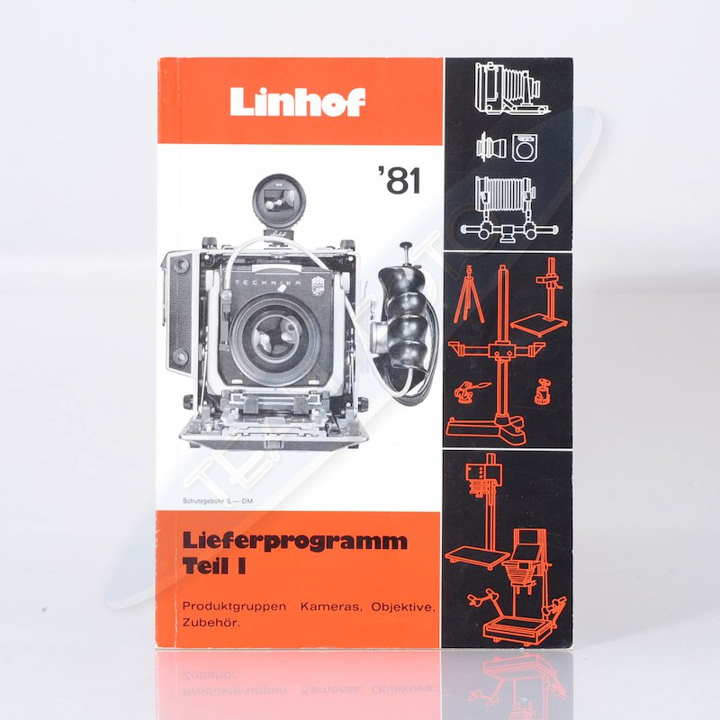 Linhof Lieferprogramm 1981 Teil 1