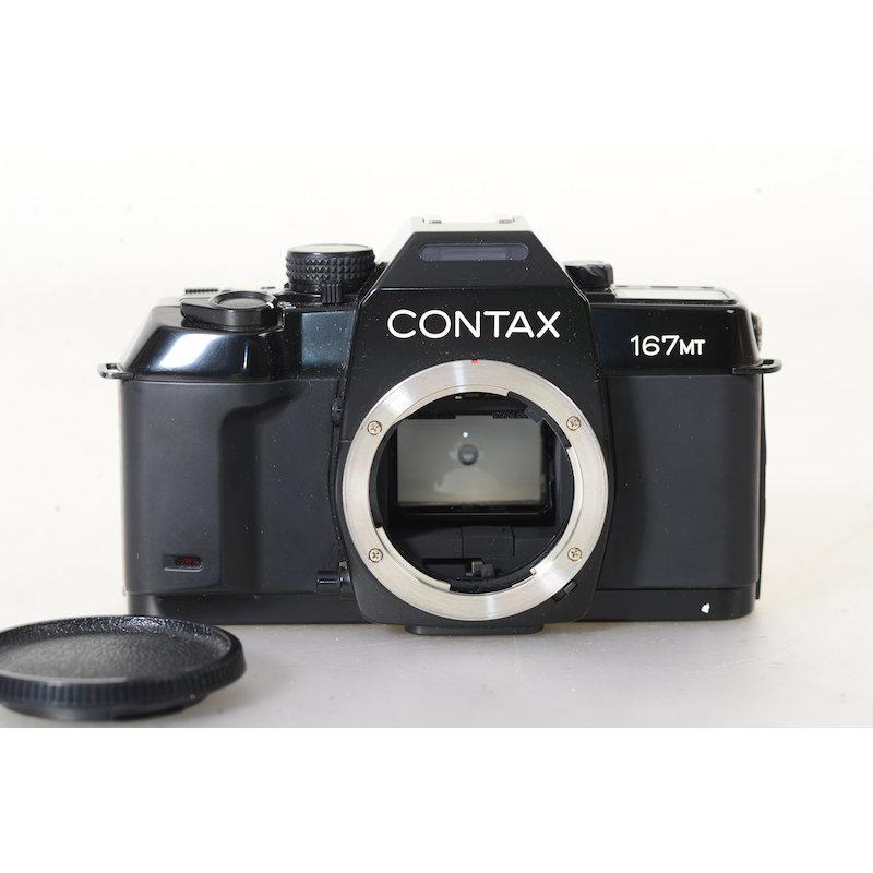 Contax 167 MT+Datenrückwand