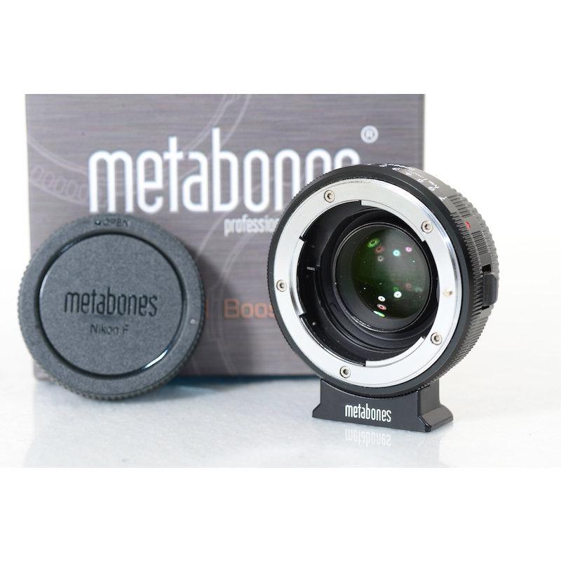 Metabones Speed Booster Nikon G an BlackMagic Cinema
