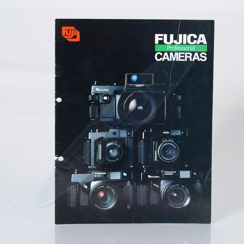 Fuji Prospekt Fujica Professional Cameras