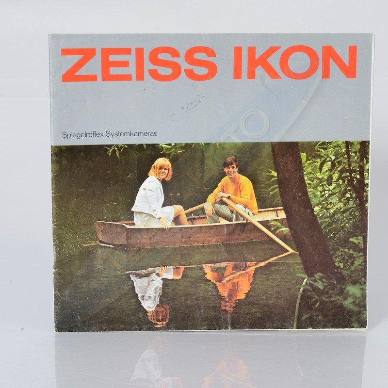 Zeiss-Ikon Prospekt Spiegelreflex-Systemkameras