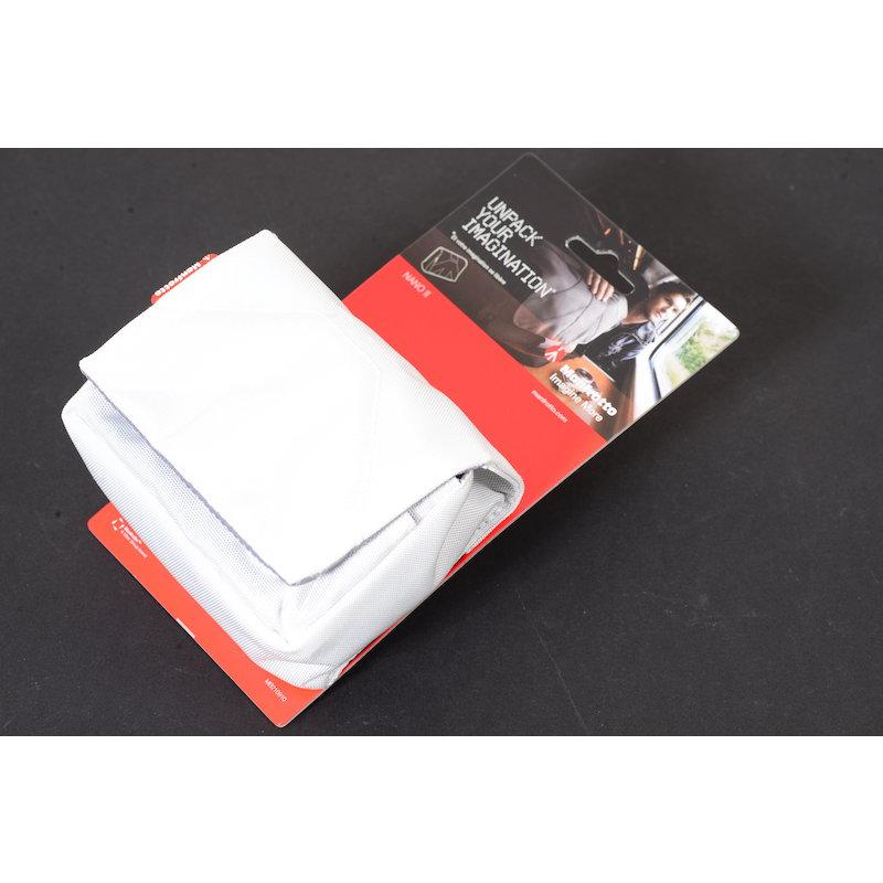 Manfrotto Kamerabeutel Nano II Weiß