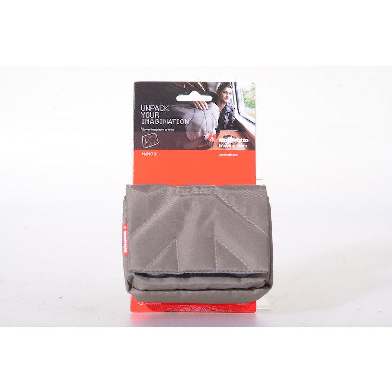 Manfrotto Kamerabeutel Nano III Grau