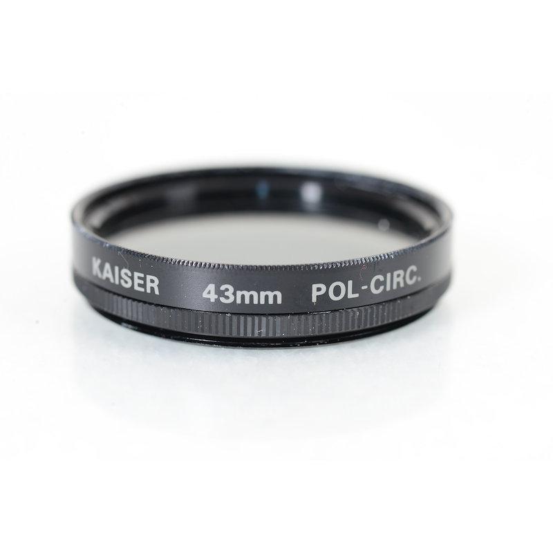 Kaiser Polfilter Zirkular E-43