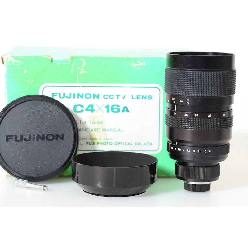 Fuji Fujinon CCTV 1,4/16-64 C-Mount