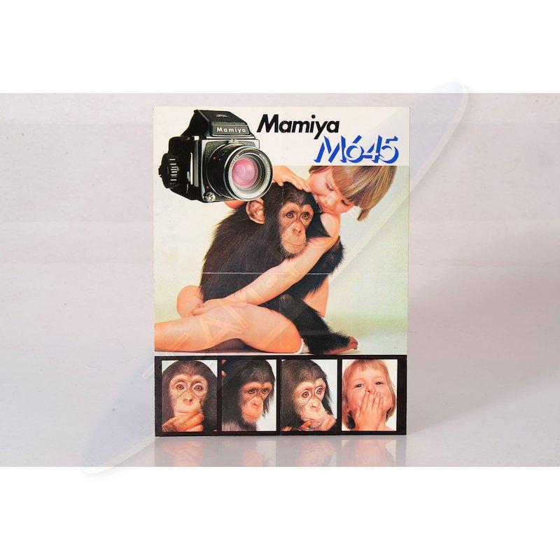 Mamiya Faltblatt M645