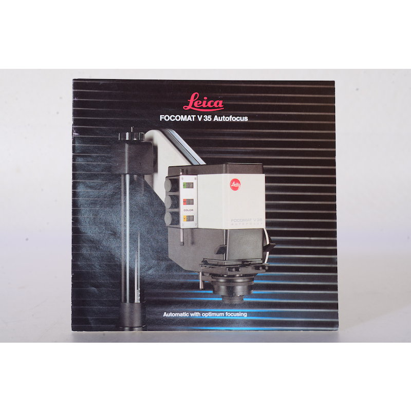 Leica Prospekt Focomat V35 Autofocus (Englisch)