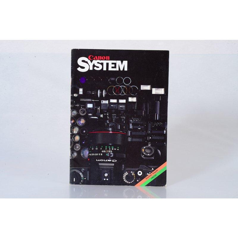 Canon Prospekt System 1982/1983