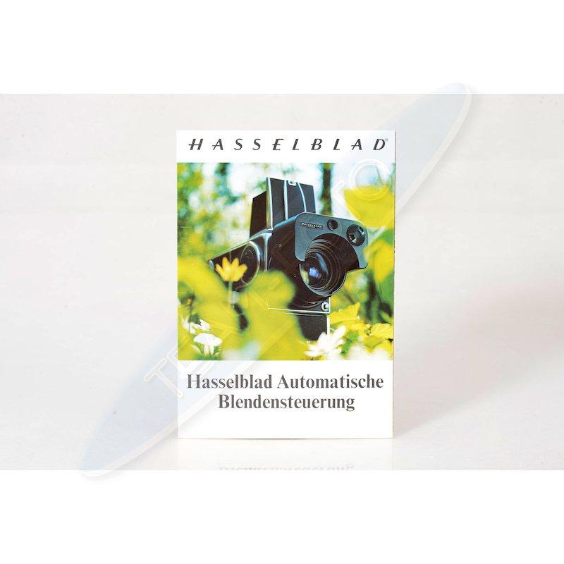 Hasselblad Prospekt Automatische Blendensteuerung
