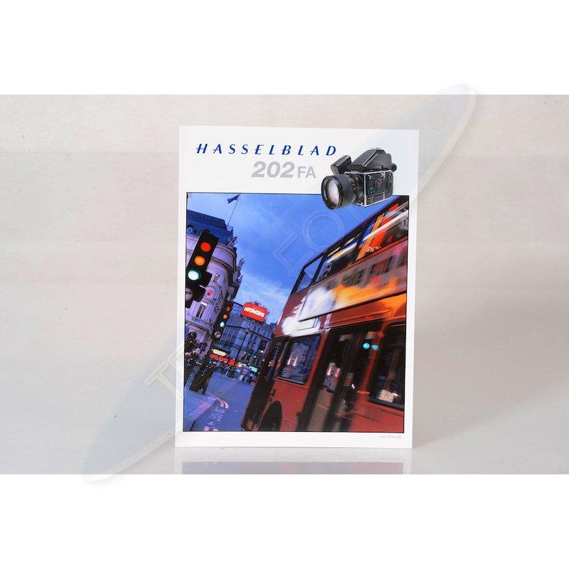 Hasselblad Prospekt 202 FA