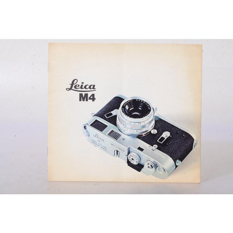 Leica Prospekt M4