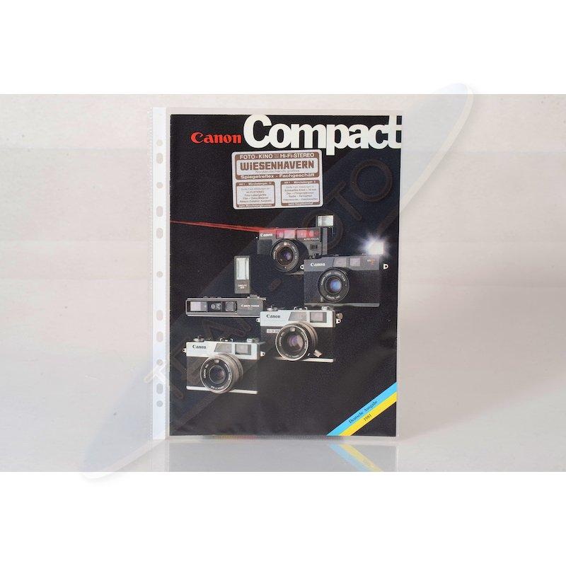 Canon Prospekt Compact