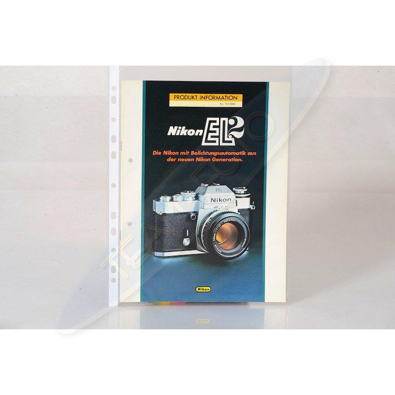 Nikon Produktinformation EL2