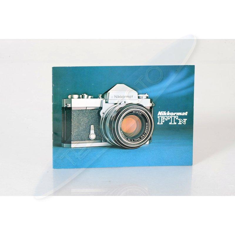 Nikon Faltblatt Nikkormat FTN