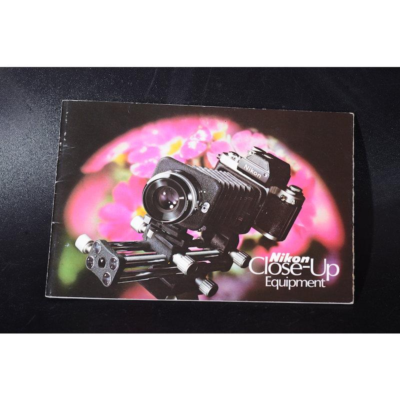 Nikon Prospekt Close-Up Equipment (Englisch)