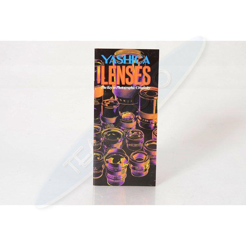 Yashica Prospekt Lenses (Englisch)