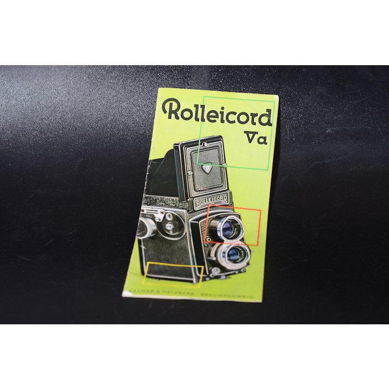 Rollei Prospekt Rolleicord Va
