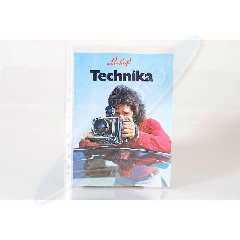 Linhof Prospekt Technika 9x12/4x5 1982