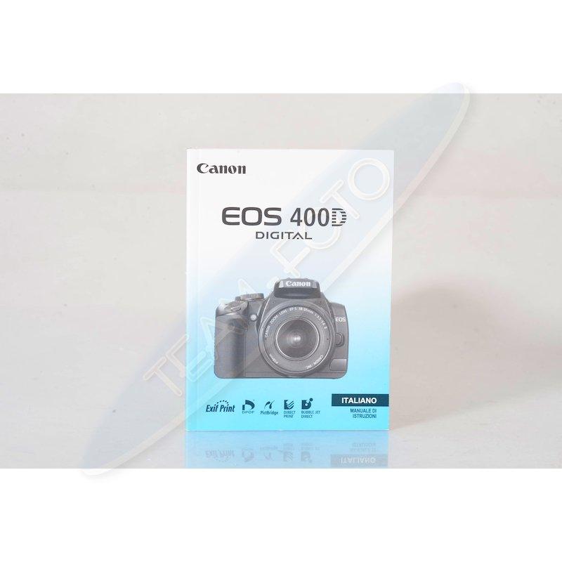 Canon Anleitung EOS 400D (Italienisch)