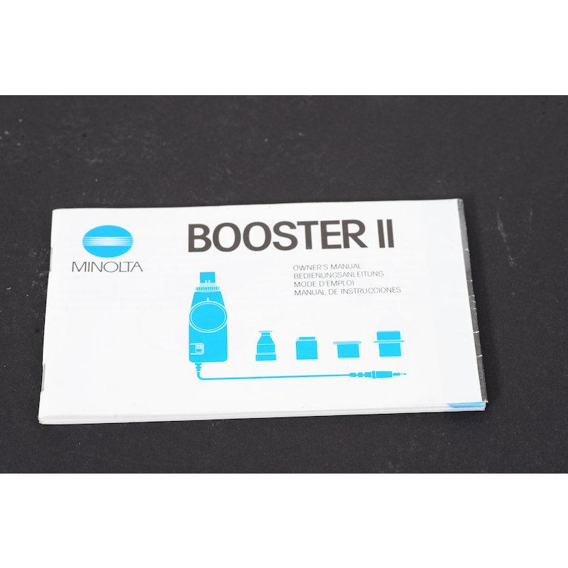 Minolta Anleitung Booster II