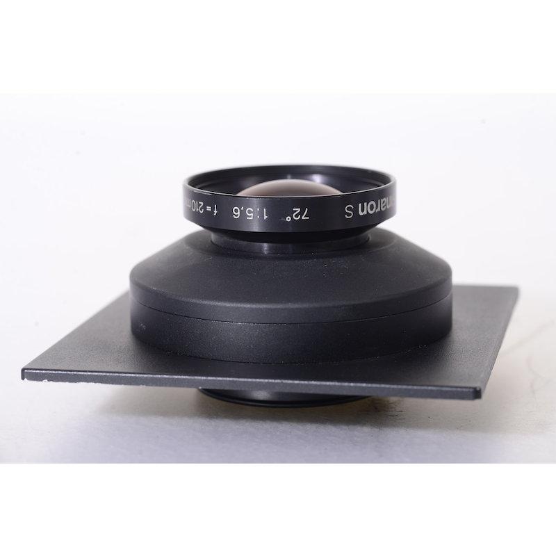 Sinar Sinaron-S 5,6/210 MC Sinar DB mit Sinar Objektivplatine