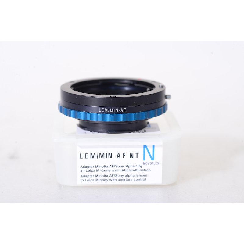 Novoflex Adapterring Sony A an Leica-M LEM/MIN-AF
