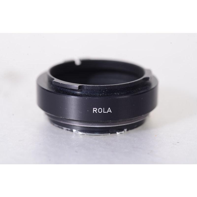 Novoflex Anschlußring Rollei QBM ROLA