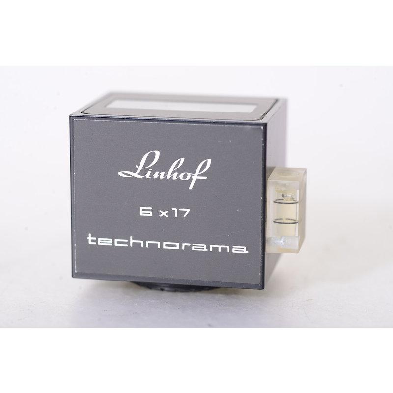 Linhof Technorama-Sucher 6x17 Prototyp ohne Leuchtrahmenanzeige