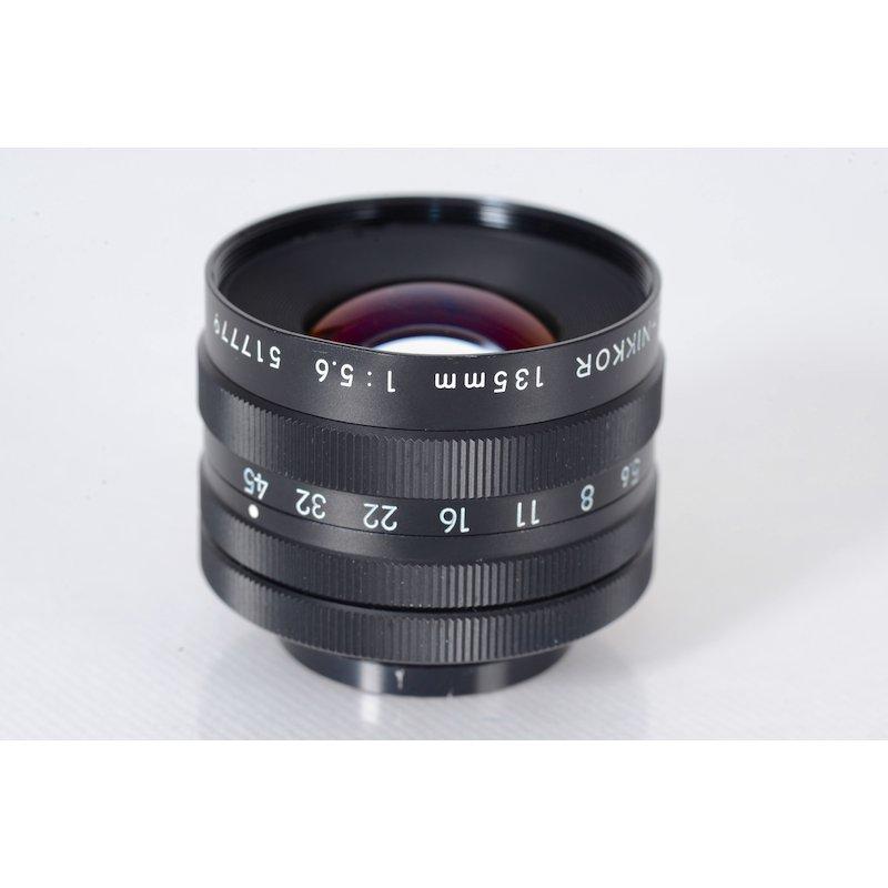 Nikon EL-Nikkor 5,6/135 N M39 Delle Filtergewinde