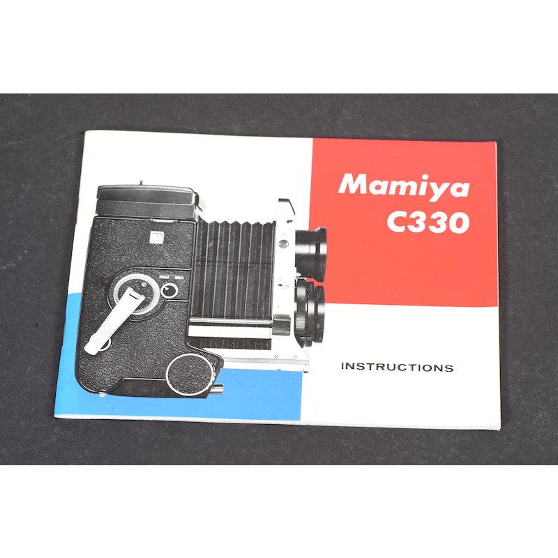 Mamiya Anleitung C330 (Englisch)