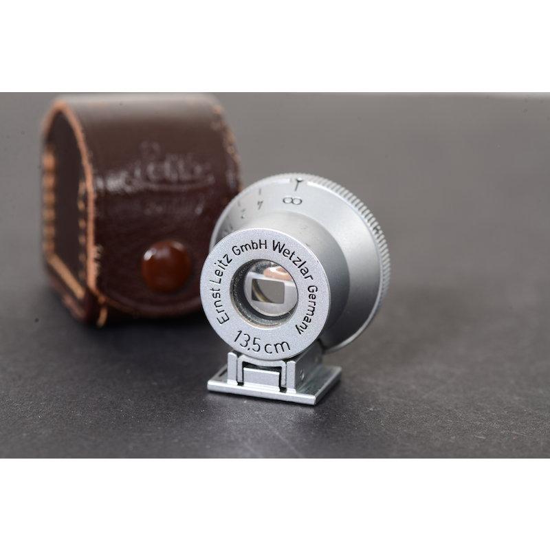 Leitz Optischer Sucher Chrom 13,5cm SHOOC